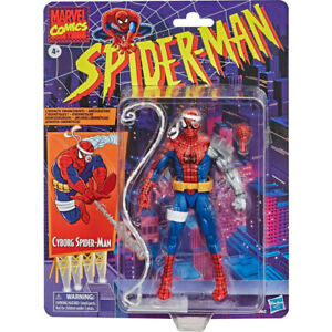 Marvel-Legends-Retro-6-034-Cyborg-Spider-Man-Comics-Version-201201