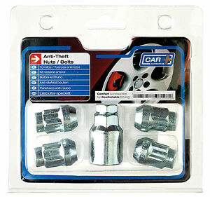 Butzi 12x1.50 Anti Theft Locking Wheel Bolt Nuts /& 2 Keys for Hyundai Veloster