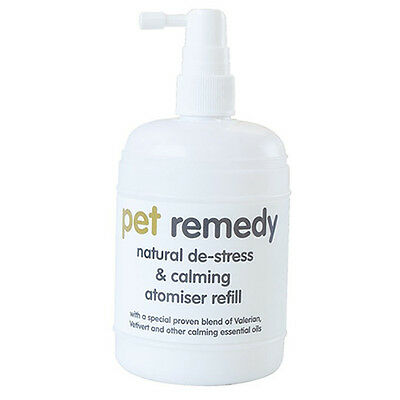PET REMEDY ATOMISER 250ML REFILL DE-STRESS ANXIETY RELIEF FOR DOGS CATS RABBITS
