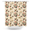 Sourpuss Last Port Traditional Tattoos Flash Floral Inked Shower Curtain SPSC30