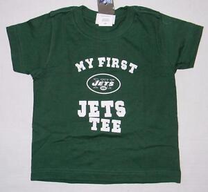 0602189b2b7 NWT Toddler Boys Girls My First New York Jets Tee Shirt Reebok 2T 3T ...