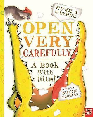 1 of 1 - Open Very Carefully by Nosy Crow (Paperback, 2013)-F068