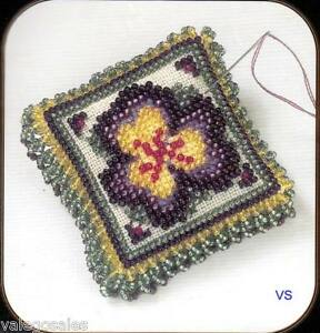 Mill-Hill-Magnetic-Beaded-and-Stitched-Linen-Kit-Pin-Pillow-PANSY-PETALS-3