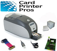 Zebra P110i ID Badge Card Printer Package (60-Day Warranty)