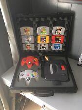 Nintendo 64  Console Bundle 2 Controller 9 Games  Expansion W/ Case blockbuster