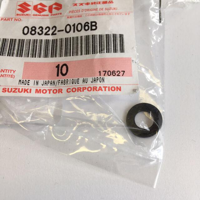 Suzuki Genuine Part - Washer (RM125/250 RM-Z250/450 RMX450) - 08322-0106B-000 -
