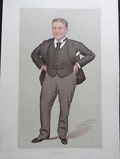 Original Victorian Vanity Fair Print; Harry Lawson, Viscount Burnham, 16/11/1893