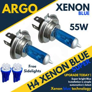 Ford-Fiesta-Mk6-02-08-Incl-St-H4-Ice-Blue-Xenon-Headlight-Bulbs-501-7-Led-W5w