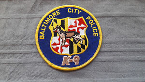 Baltimore City Police training all K-9 handlers to ...