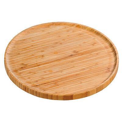 KESPER 58463 Pizzateller 32 cm aus FSC-zertifiziertem Bambus / Holzteller / Pizz