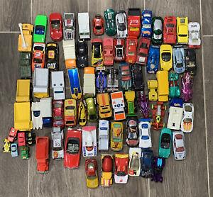 Lote-de-75-Hot-Wheels-Suelto-Vintage-Surtidos-coches-Matchbox-70s-80s-90s