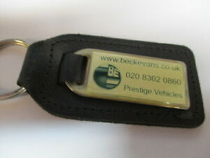 Beckevans-leather-keyring-Superb-condition-free-post