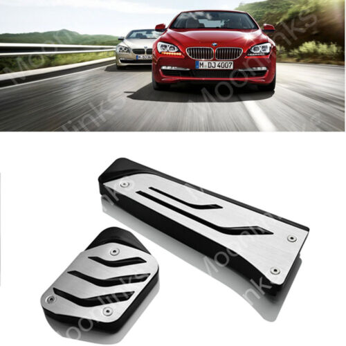 For BMW 1 3 5 6 7 Series X1 X3 X5 X6 No Drill Gas Fuel Brake Pedal Pad Cover