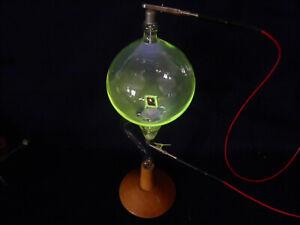 Antique-Antique-Original-Pressler-Crookes-Tube-Tube-Heat-Effect-Lutz-Neumann