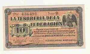 Mexico-Messico-10-pesos-1914-La-tesoreria-de-la-federacion-FDS-UNC-rif-2683