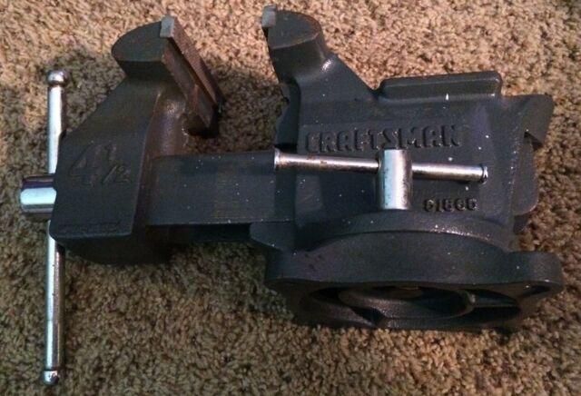 Vintage Craftsman 51865 Swivel Bench Vise 4 1 2 Inch Jaws