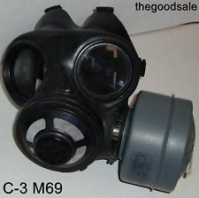 Canadian C 3 M 69 Gas Mask Small Size