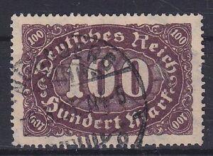 DR-Mi-Nr-247-I-PF-Plattenfehler-gest-Zifer-Infla-1922-used