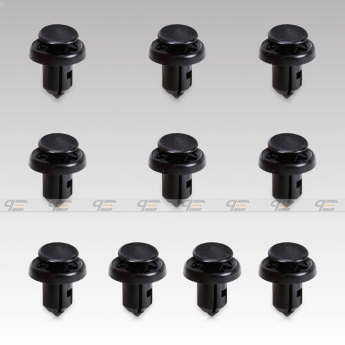 10 fit for Honda//Acura 2004-09 Bumper Splash Shield Retainer Clip 91506-S9A-003