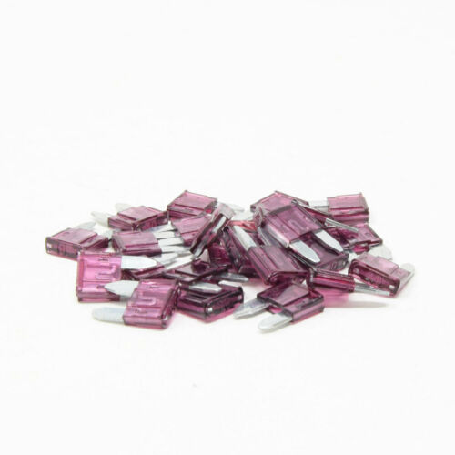 50 Pc 40A Mini Blade Style Fuse ATM  Automotive Car Truck Powersport Motorcycle