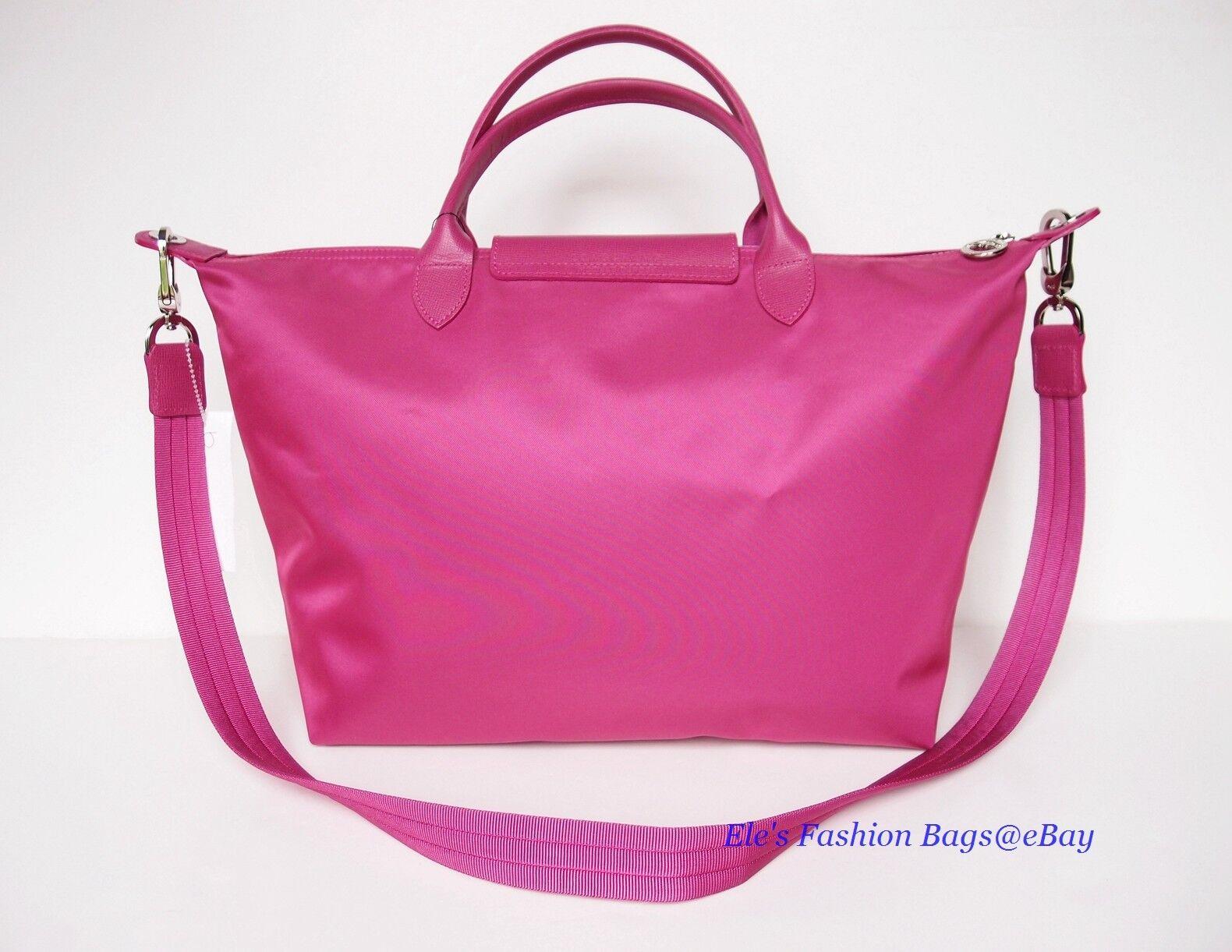 Longchamp Le Pliage Neo Tote Shoulder Bag in Hydrangea for sale online  ec5f65ac8ead6