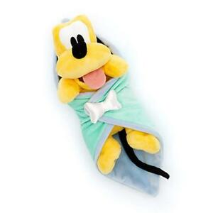 Baby-Pluto-Plush-with-Blanket-Doll-Stuffed-Toy-Dog-Puppy-11-034-Kid-Gift