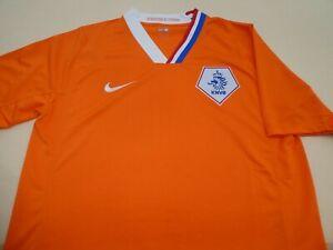 NETHERLANDS HOLLAND EURO 2008 NIKE FOOTBALL SOCCER SHIRT JERSEY TOP MEDIUM