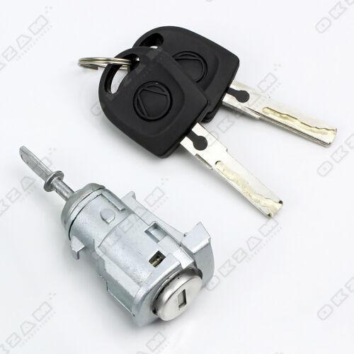 VW POLO 9N 2001-2009 2//3 PORTE serratura chiave e serratura Barrel Set Anteriore Sinistro Nuovo