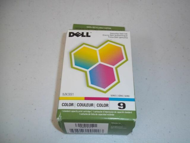 New Genuine OEM -  Dell Series 9 Color Ink - MK991 - FAST FREE SHIPPING