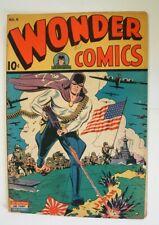 1945 WONDER COMICS #6 WITH THE GRIM REAPER COMIC BOOK VERY NICE