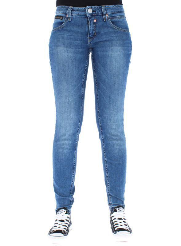 Herrlicher Damen Jeans  Touch Cropped  076 Blend