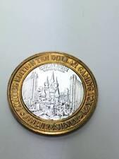 $10 Limited Edition .999 pure silver Excalibur Las Vegas gaming token