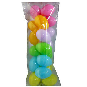 New empty filler easter egg pack of 18 fillable with easter hunt image is loading new empty filler easter egg pack of 18 negle Choice Image