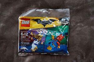 NEW LEGO BATMAN MOVIE DISCO TEARS OF BATMAN CLOWN SEALED POLYBAG 30607 MINIFIGS