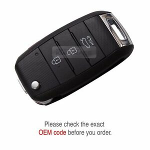 OEM Keyless FOB Entry Remote Control Folding Key Set for KIA 2012-2015 Rio Pride