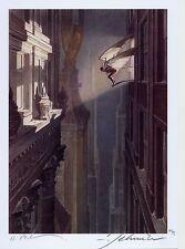Le mura di SAMARIS vza/TT LIM. 99 ex. + SIGNED Artprint François Schuiten