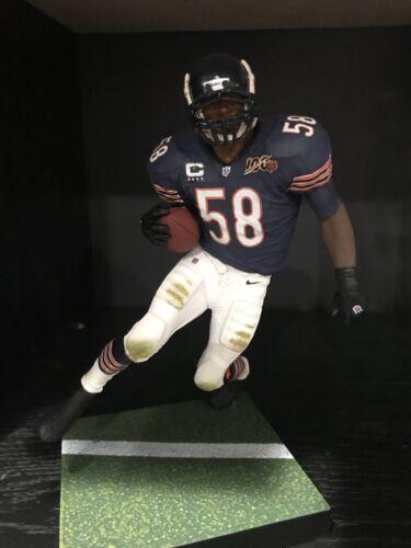 "Roquan Smith Chicago Bears Blue Jersey Custom 6/"" Mcfarlane Figure Football"