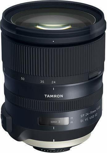 NEOPRENO CAMO Tamron 24-70mm F//2.8 Cubierta de Lente VC USD G2 Di