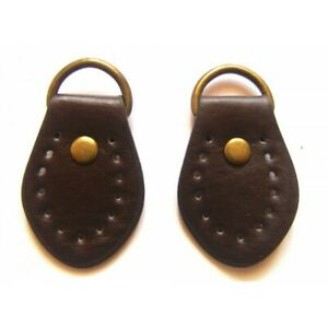 Pair-of-synthetic-leather-loops-for-Anse-de-sac-35mmx50mm-chocolate