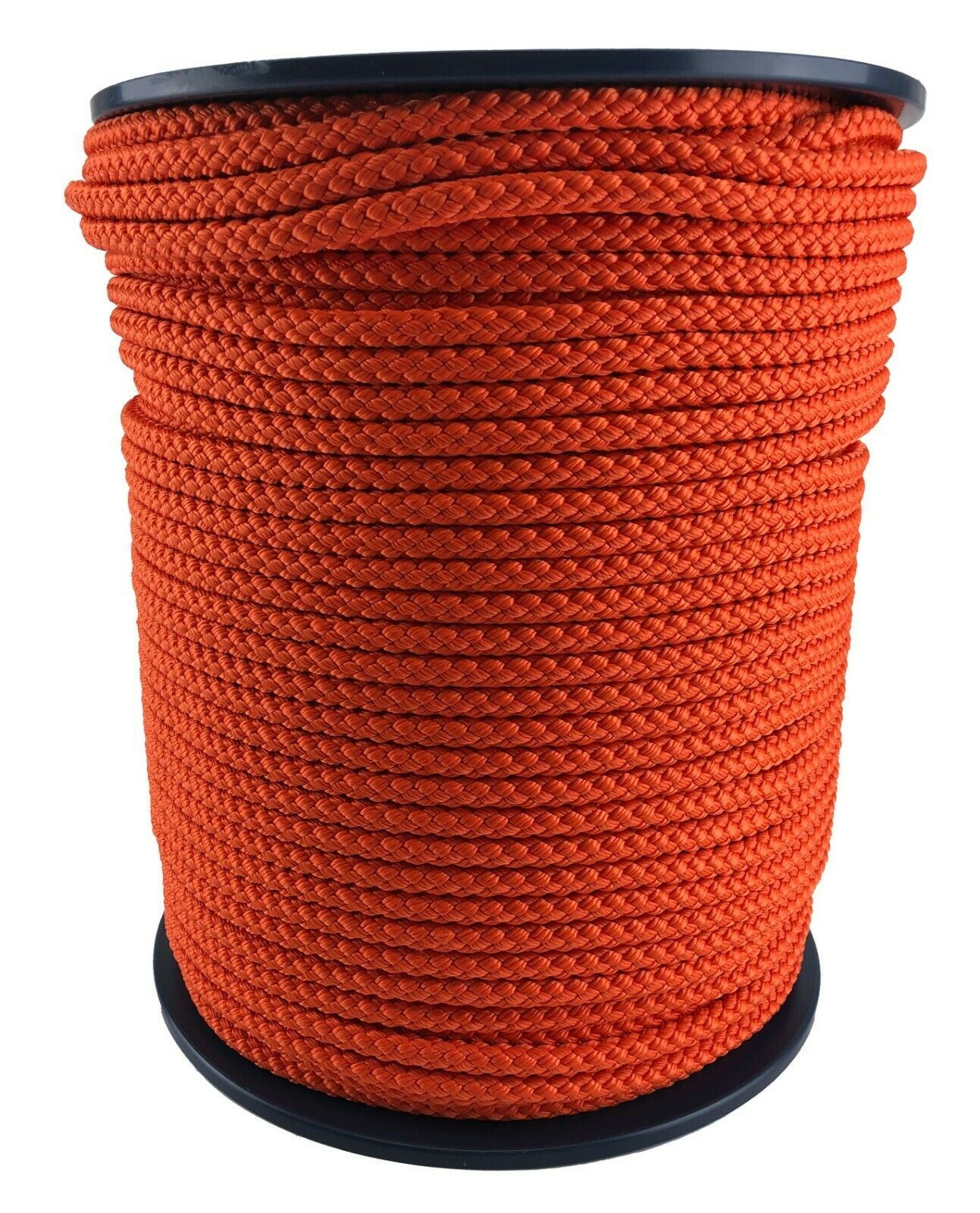 10mm Naranja Trenzado Polipropileno Cuerda Paracord con Cordón Vela