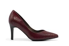 Zapato de tacón serpiente rojo - Patricia Miller