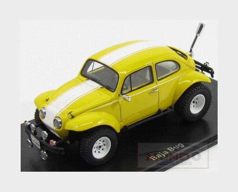 Volkswagen Beetle Baja Bug 1970 giallo bianca NeoScale 1 43 NEO45896