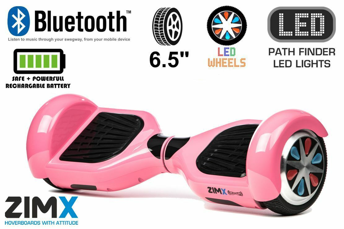 ZIMX - Pink 6.5  Certified Swegway Hoverboard - Limited Edition