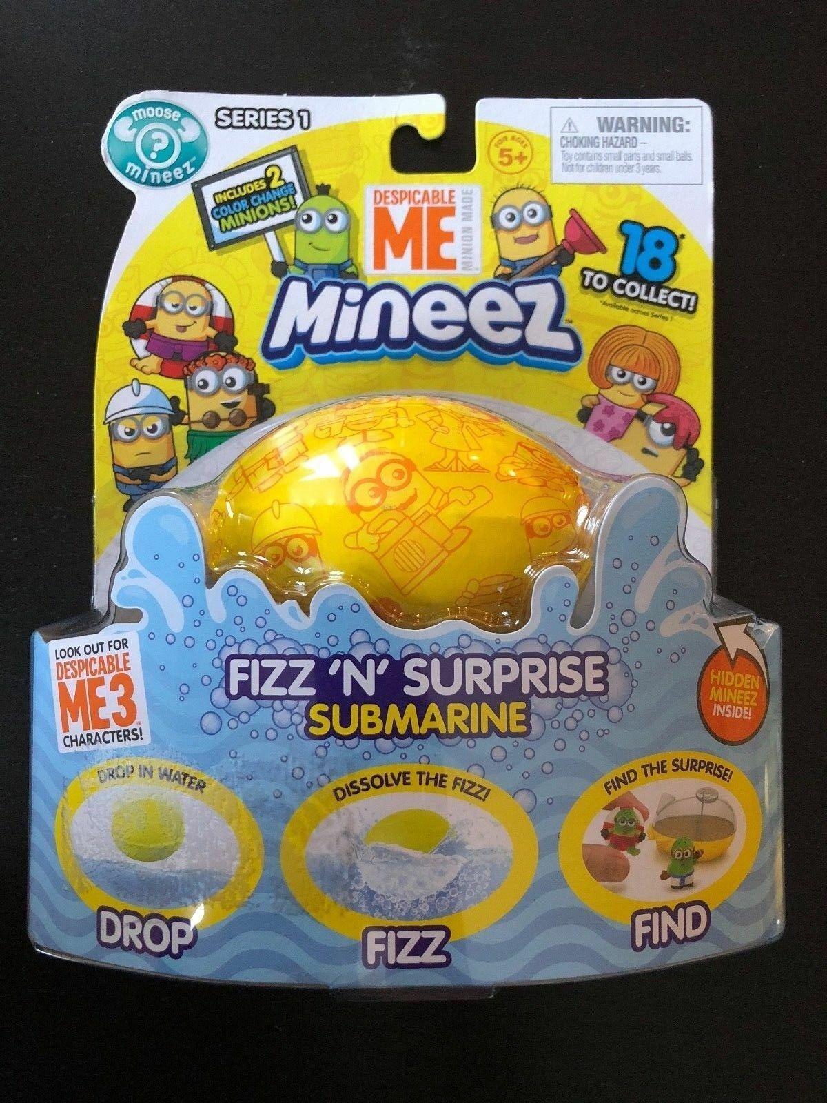 Despicable Me Mineez Fizz /'N/' Surprise Submarine
