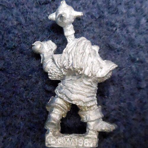1987 Chaos Dwarf 0304 05 D3 Mainliner Deathswipe Citadel Warhammer Army Evil GW