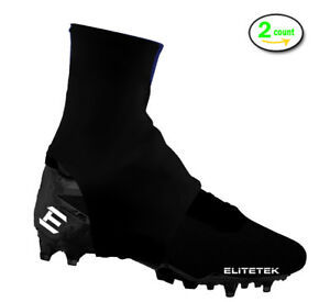 f9a9b2fa139 EliteTek Cleat Covers Youth and Adult (Pair) Keep Turf Pellets out ...