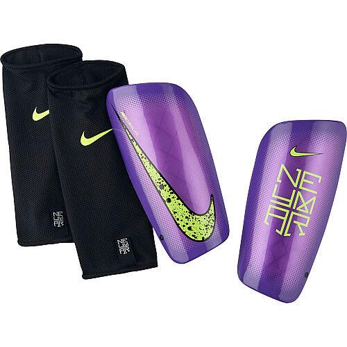 Buy Nike Mercurial Lite Neymar Jr 2015 - 2016 Shin Guard Slip Shield Purple  M online  059944e26