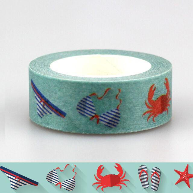 kawaii decorative washi tape elephant road tape for scrapbooking masking tape