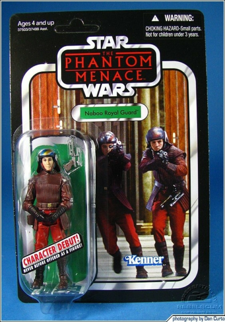 Star Wars, Hasbro, Naboo Royal Guard  Vintage collection…