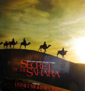 OST SECRET OF THE SAHARA  LP ENNIO MORRICONE   MADE IN ITALY   1987  S/S